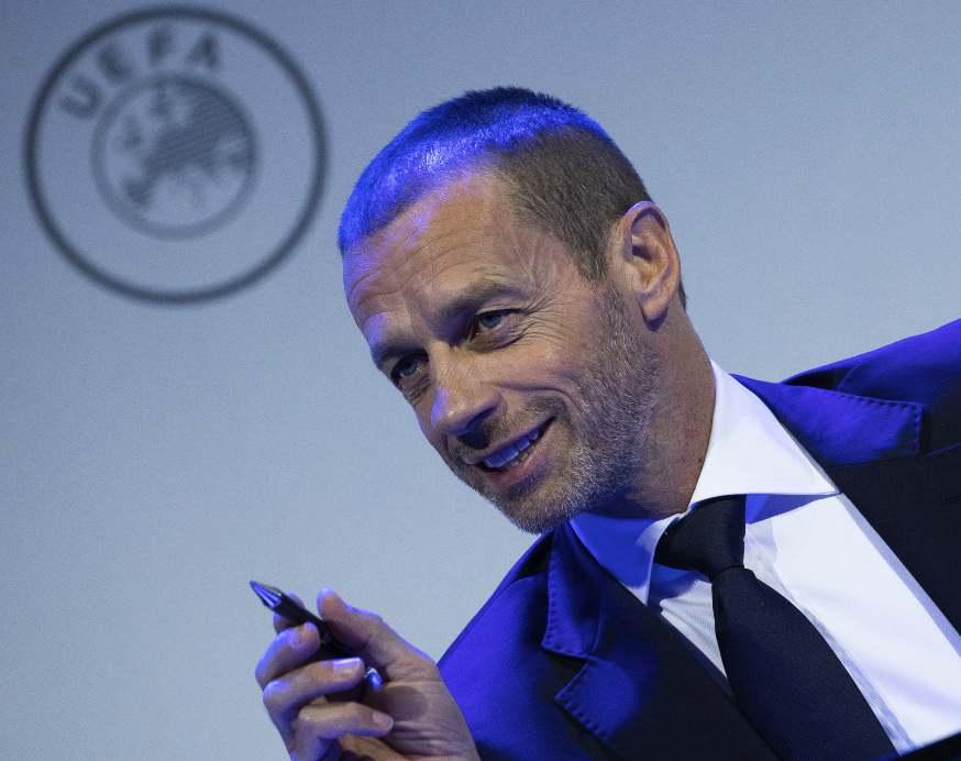 欧足联主席:若六月前比赛还无法重启,那本赛季可能取消