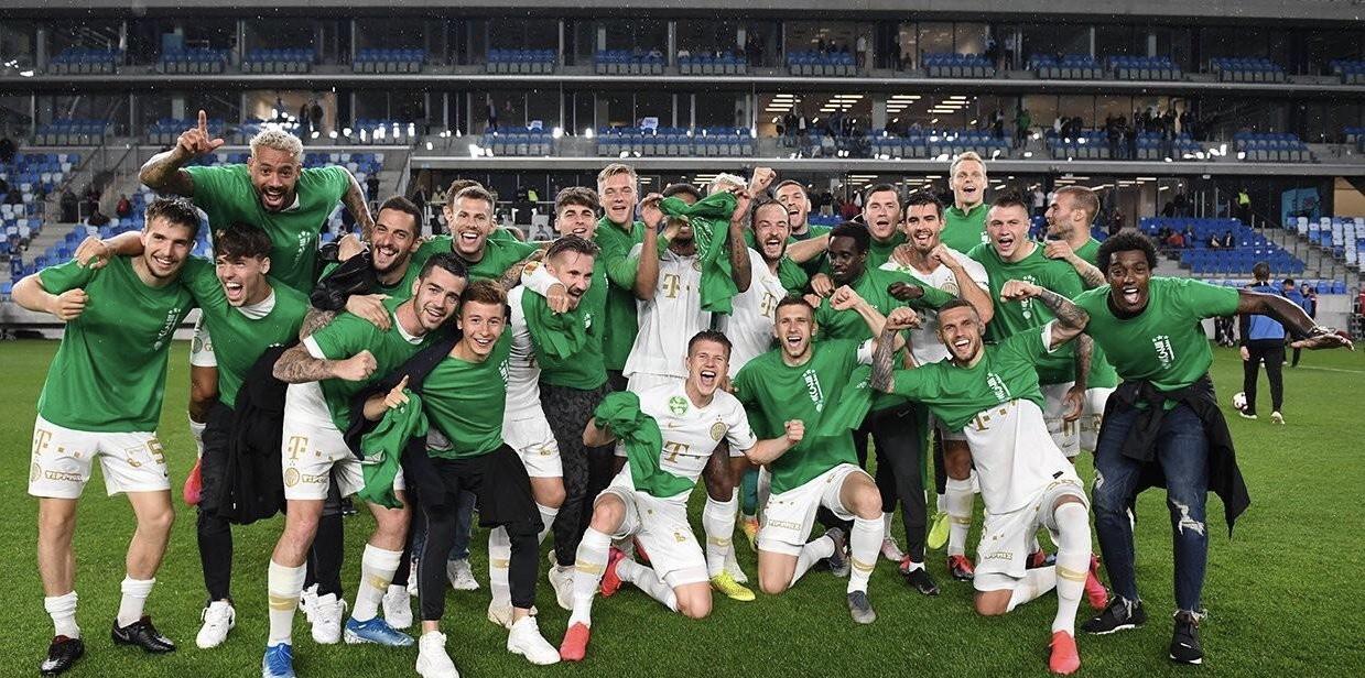 费伦茨瓦罗斯第31次获得匈牙利联赛冠军!