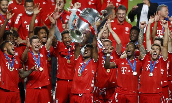 欧冠决赛拜仁1-0险胜大巴黎,内马尔泪洒赛场